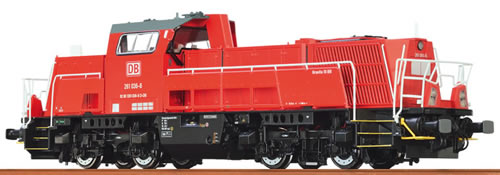 Brawa 42795 - German Diesel Locomotive 10BB of the DB – Digital BASIC+