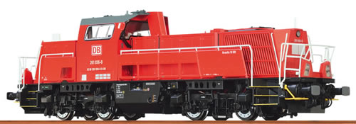 Brawa 42796 - German Diesel Locomotive 10BB of the DB – Digital EXTRA (DCC Sound Decoder)
