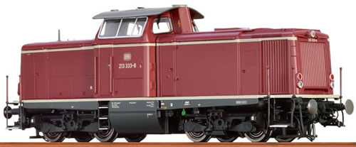 Brawa 42810 - German Diesel Locomotive BR 213 of the DB (DCC Sound Decoder)