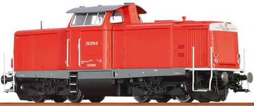Brawa 42815 - German Diesel Locomotive BR 212 of the DB (Sound Decoder)