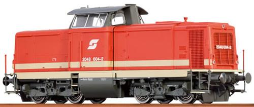 Brawa 42821 - Austrian Diesel Locomotive Reihe 2048 of the ÖBB