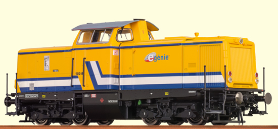 Brawa 42824 - French Diesel Locomotive V 100 E-Génie SAS