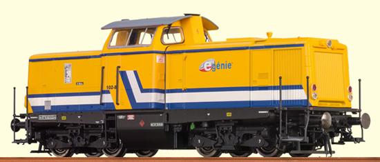 Brawa 42825 - French Diesel Locomotive V 100 E-Génie SAS