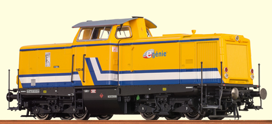 Brawa 42826 - French Diesel Locomotive V 100 E-Génie SAS (DCC Sound Decoder)