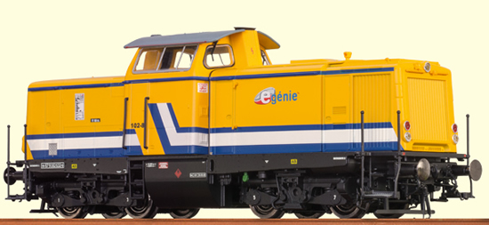 Brawa 42827 - French Diesel Locomotive V 100 E-Génie SAS (Sound Decoder)