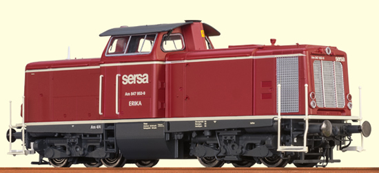 Brawa 42829 - Swiss Diesel Locomotive V 100 Sersa