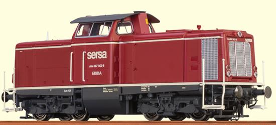 Brawa 42830 - Swiss Diesel Locomotive V 100 Sersa (DCC Sound Decoder)