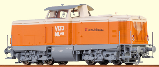 Brawa 42832 - Danish Diesel Locomotive V 100 VLTJ