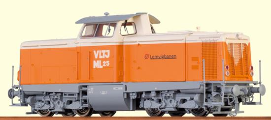 Brawa 42834 - Danish Diesel Locomotive V 100 VLTJ (DCC Sound Locomotive)
