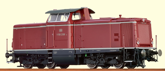 Brawa 42837 - German Diesel Locomotive V 100.20 of the DB - BASIC+