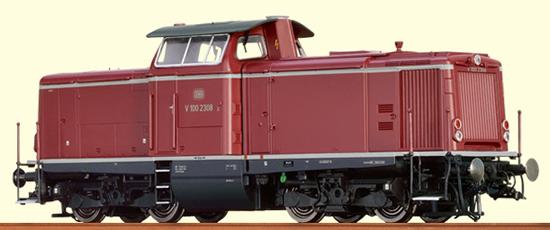 Brawa 42839 - German Diesel Locomotive V 100.20 of the DB - EXTRA (Sound Decoder)