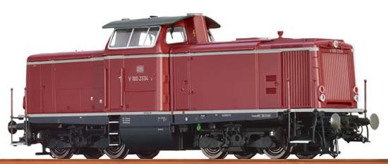 Brawa 42841 - German Diesel Locomotive V 100.23 of the DB - AC BASIC+