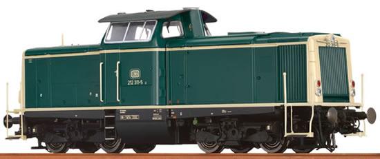 Brawa 42845 - German Diesel Locomotive BR 212 of the DB - AC BASIC+