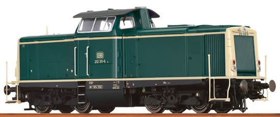 Brawa 42846 - German Diesel Locomotive BR 212 of the DB (DCC Sound Decoder) - EXTRA