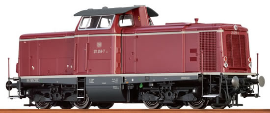 Brawa 42850 - German Diesel Locomotive BR 211 of the DB (DCC Sound Decoder) - EXTRA