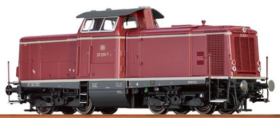 Brawa 42851 - German Diesel Locomotive BR 211 of the DB (Sound Decoder) - AC EXTRA