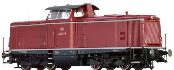 Brawa 42860 - German Diesel Locomotive BR 212 of the DB BASIC+
