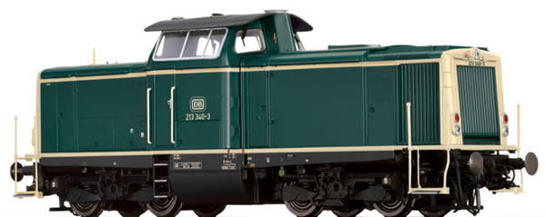 Brawa 42866 - German Diesel Locomotive BR 213 of the DB EXTRA (Sound)