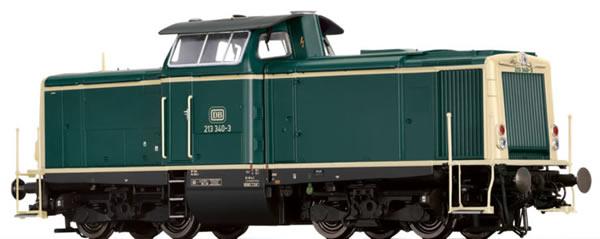 Brawa 42867 - German Diesel Locomotive BR 213 of the DB EXTRA (AC Sound)