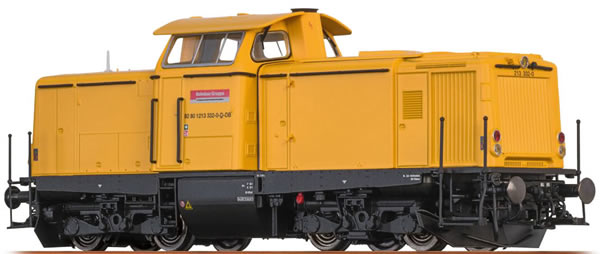 Brawa 42878 - German Diesel Locomotive BR 213 of the DB AG (DCC Sound Decoder) - EXTRA