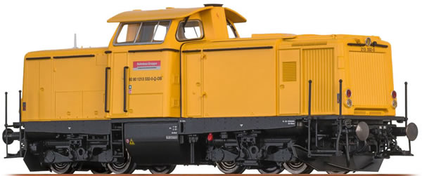Brawa 42879 - German Diesel Locomotive BR 213 of the DB AG (Sound Decoder) - EXTRA