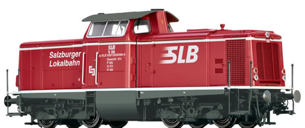 Brawa 42880 - Austrian Diesel Locomotive 211 Salzburger Lokalbahn (DC Analog Basic Plus)