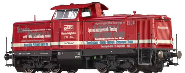 Brawa 42887 - German Diesel Locomtive BR 213 MARION of the Rennsteigbahn