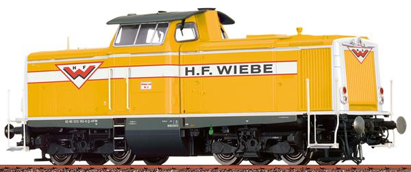 Brawa 42890 - Greman Diesel Locomotive BR212 of the Wiebe (DCC Sound Decoder)