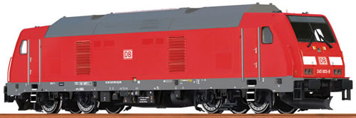 Brawa 42900 - German Diesel Locomotive TRAXX BR 245 of the DB-AG