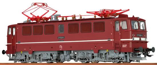 Brawa 43104 - German Electric Locomotive BR 211 of the DR (DCC Sound Decoder)
