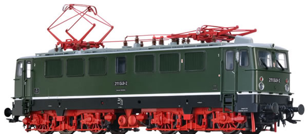 Brawa 43110 - German Electric Locomotive BR 211 of the DR (DC Analog Basic Plus)