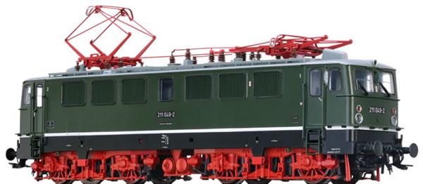 Brawa 43112 - German Electric Locomotive BR 211 of the DR (DC Digital Extra w/Sound)