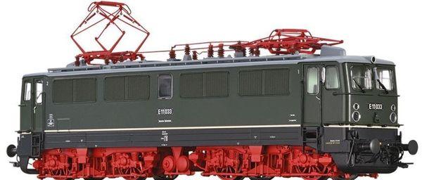 Brawa 43114 - German Electric Locomotive E11 of the DR (DC Analog Basic Plus)