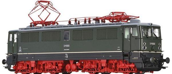 Brawa 43116 - German Electric Locomotive E11 of the DR (DC Digital Extra w/Sound)