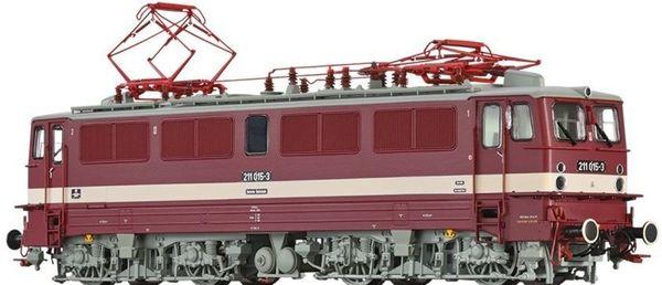 Brawa 43120 - German Elewctric Locomotive 211 of the DR (DC Digital Extra w/Sound)