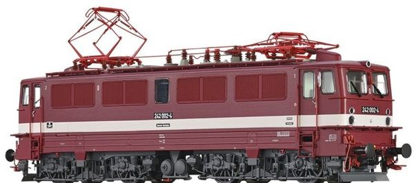 Brawa 43128 - German Elewctric Locomotive 242 of the DR (DC Digital Extra w/Sound)