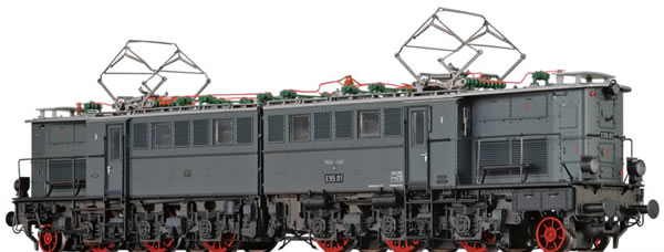 Brawa 43158 - German Electric Locomotive BR E95 of the DRB (DC Analog Basic Plus)