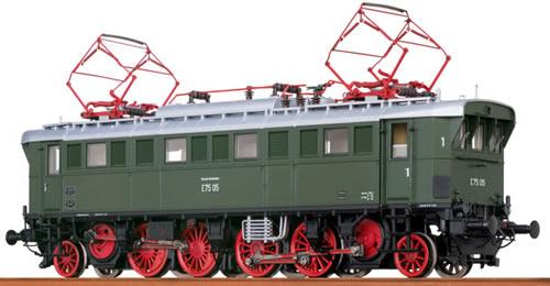 Brawa 43205 - German Electric Locomotive E75 of the DB BASIC+