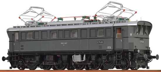 Brawa 43213 - German Electric Locomotive E75 of the DRG BASIC+
