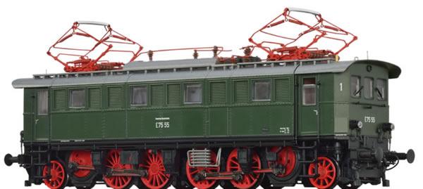 Brawa 43232 - German Electric Locomotive BR E75 of the DB BASIC+