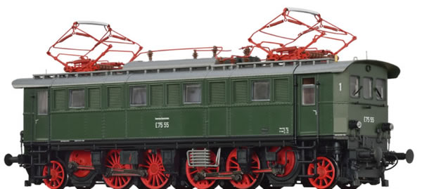 Brawa 43235 - German Electric Locomotive BR E75 of the DB EXTRA