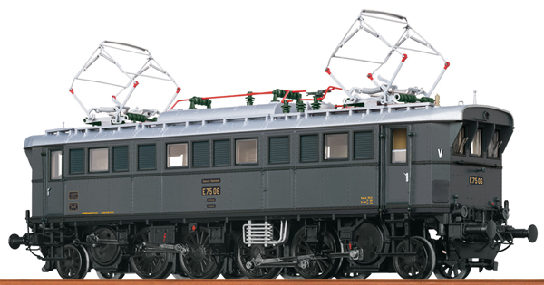 Brawa 43236 - German Electric Locomotive E75 of the DRG (DC Analog Basic Plus)