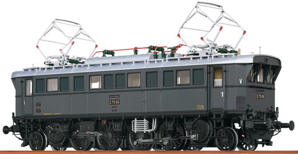 Brawa 43238 - German Electric Locomotive E75 of the DRG (DC Digital Extra w/Sound)
