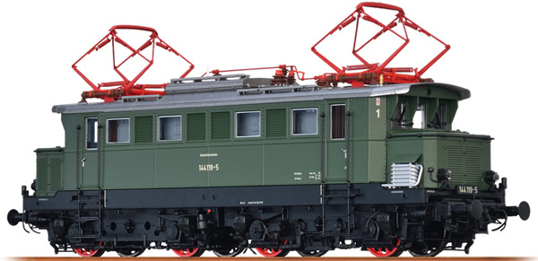 Brawa 43414 - German Electric Locomotive BR 144 of the DB (DC Digital Extra w/Sound)
