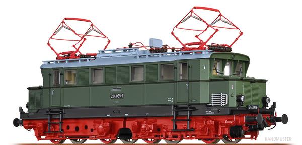 Brawa 43418 - German Electric Locomotive BR 244 of the DR (DC Digital Extra w/Sound)