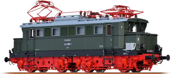 Brawa 43419 - German Electric Locomotive BR 244 of the DR (AC Digital Extra w/Sound)