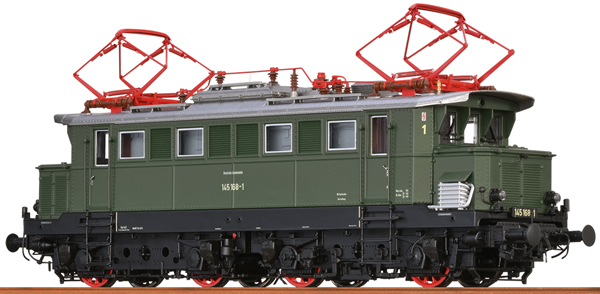 Brawa 43428 - German Electric Locomotive 145 of the DB (DC Analog Basic Plus)