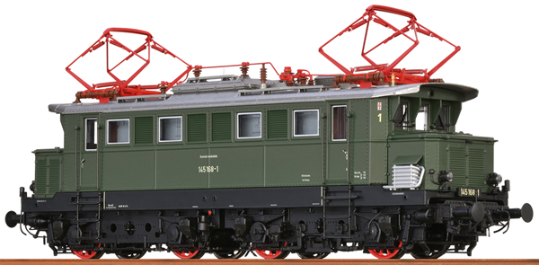 Brawa 43429 - German Electric Locomotive 145 of the DB (AC Digital Basic Plus)