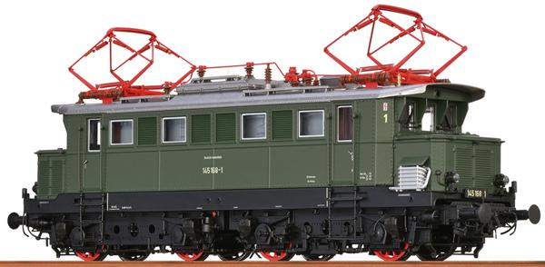 Brawa 43430 - German Electric Locomotive 145 of the DB (DC Digital Extra w/Sound)