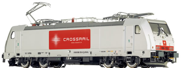 Brawa 43805 - Swiss Electric Locomotive BR 186 Crossrail EXTRA (AC Sound)